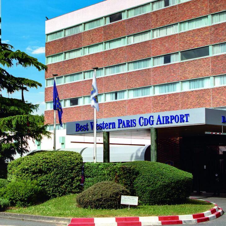 BEST WESTERN HOTEL PARIS CDG AIRPORT Hotel Parking (Exterieur) Parkeergarage Roissy-en-France