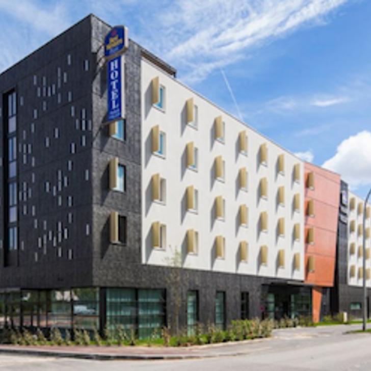 Hotel Parkhaus BEST WESTERN PLUS HOTEL PARIS VELIZY (Überdacht) Parkhaus Vélizy-Villacoublay