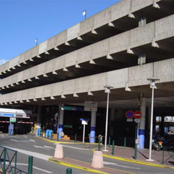 Parque de estacionamento Parking Officiel EFFIA GARE DE TOULOUSE MATABIAU (Couvert) TOULOUSE