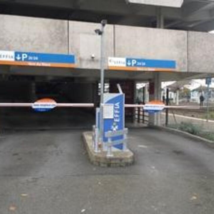 Offiziell Parkhaus EFFIA GARE DU MANS (Überdacht) Parkhaus LE MANS