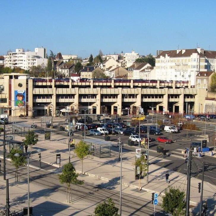 EFFIA GARE DE DIJON Officiële Parking (Overdekt) Parkeergarage DIJON