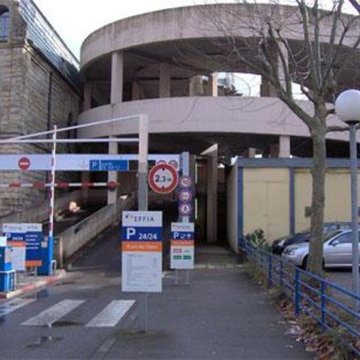 EFFIA GARE DE METZ Officiële Parking (Exterieur) Parkeergarage METZ