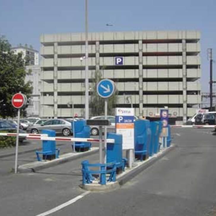 Parcheggio Ufficiale EFFIA GARE DE SAINT-PIERRE-DES-CORPS Nord (Coperto) parcheggio SAINT PIERRE DES CORPS