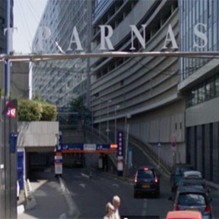 Offiziell Parkhaus EFFIA GARE MONTPARNASSE PASTEUR (Überdacht) PARIS