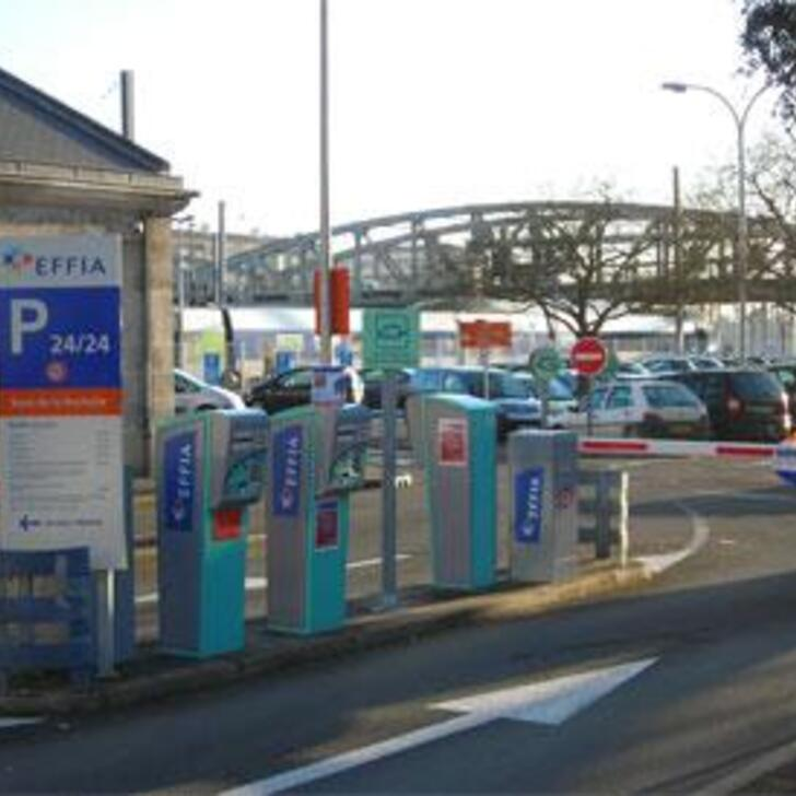 parking officiel effia gare de la rochelle longue dur e ext rieur la rochelle place de