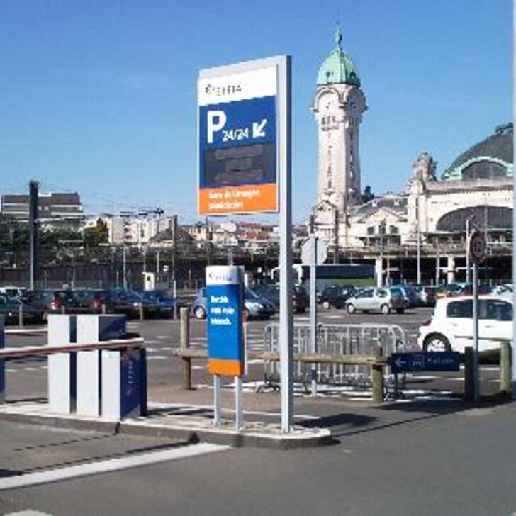 EFFIA GARE DE LIMOGES BÉNÉDICTINS P2 Officiële Parking (Exterieur) Parkeergarage LIMOGES