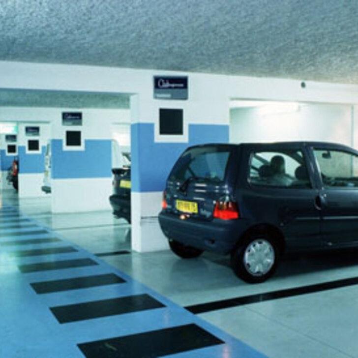 Parking Oficial EFFIA GARE DE LILLE FLANDRES (Cubierto) LILLE