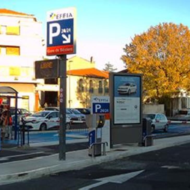 Offiziell Parkhaus EFFIA GARE DE BÉZIERS (Extern) Parkhaus BEZIERS