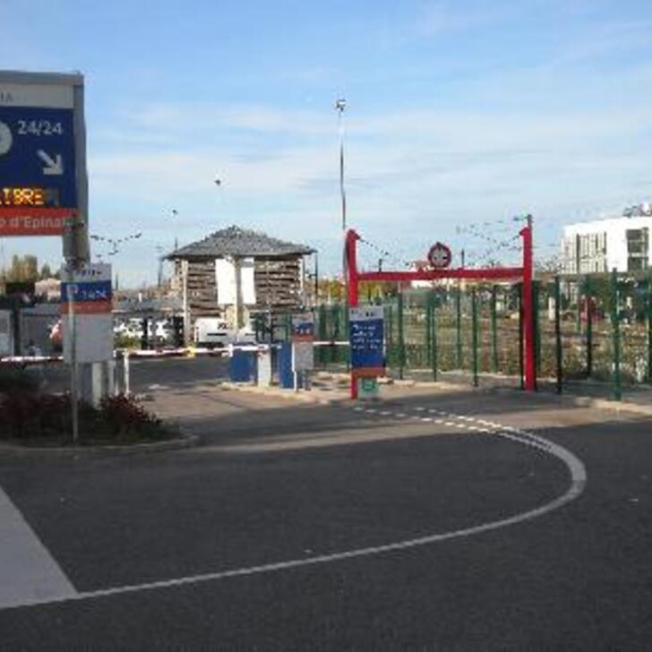 Offiziell Parkhaus EFFIA GARE D'ÉPINAL (Extern) Parkhaus Epinal