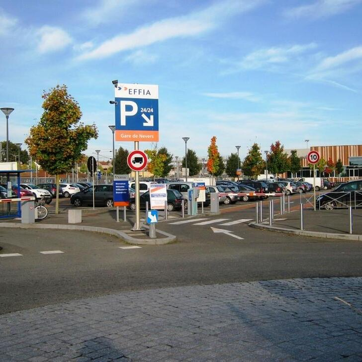 Parking Officiel EFFIA GARE DE NEVERS (Extérieur) Nevers