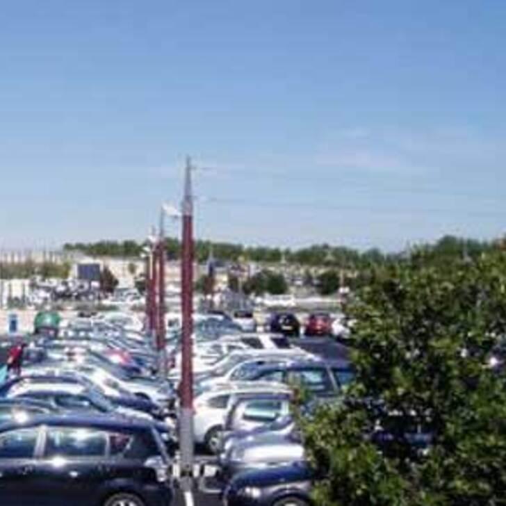 EFFIA HAUTE PICARDIE SUD Officiële Parking (Exterieur) TGV HAUTE PICARDIE