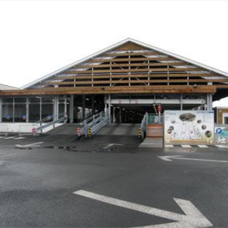 Offiziell Parkhaus EFFIA LE ROY GARE DE BORDEAUX SAINT-JEAN (Überdacht) BORDEAUX