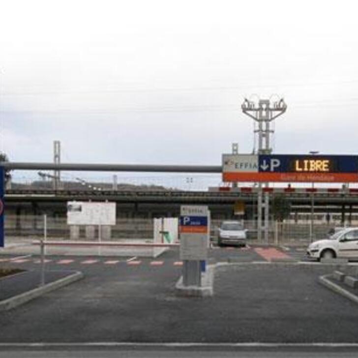 EFFIA GARE DE HENDAYE Officiële Parking (Exterieur) Hendaye