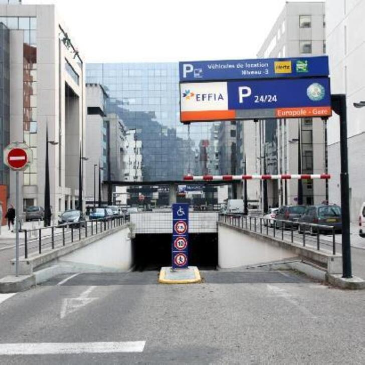 Parking Officiel EFFIA EUROPOLE - GARE DE GRENOBLE (Couvert) GRENOBLE
