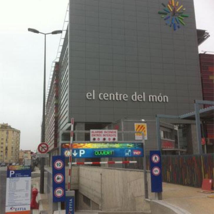 EFFIA CENTRE DEL MON - GARE DE PERPIGNAN Official Car Park (Covered) car park PERPIGNAN