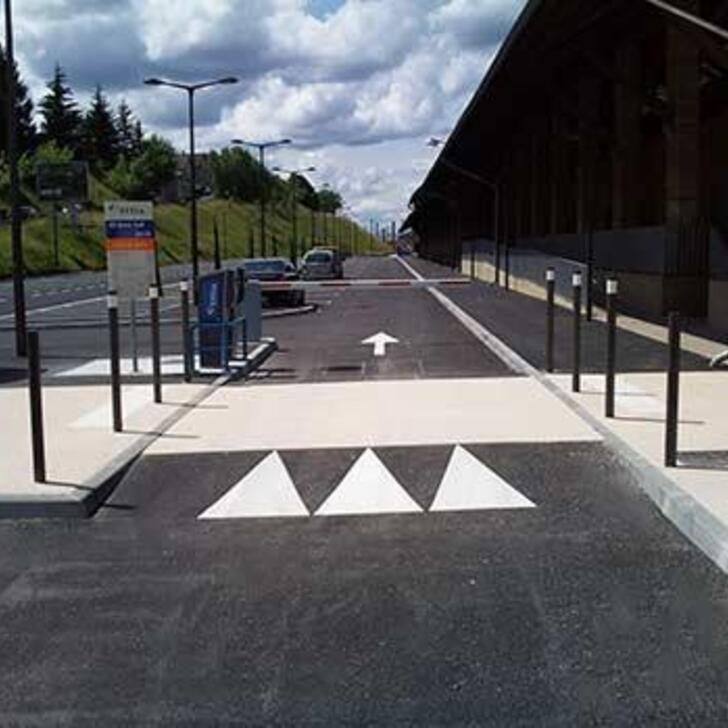 Offiziell Parkhaus P2 EFFIA GARE DE BRIVE-LA-GAILLARDE (Extern) BRIVE