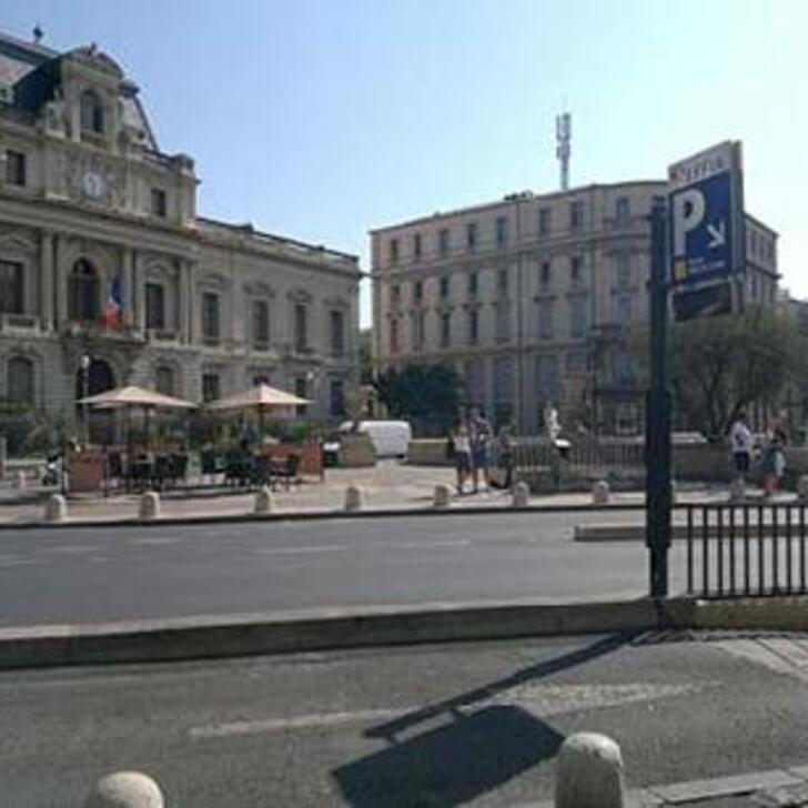 EFFIA FOCH - PRÉFECTURE - MARCHÉ AUX FLEURS Openbare Parking (Overdekt) Parkeergarage Montpellier