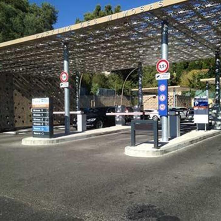 Parcheggio Pubblico EFFIA LES MIMOSAS (Coperto) parcheggio CASSIS