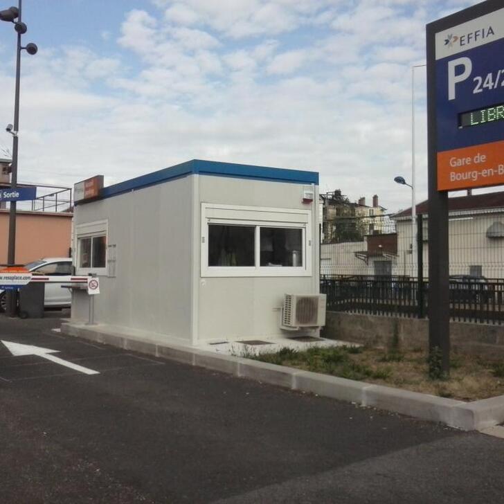 Parking Oficial EFFIA GARE DE BOURG-EN-BRESSE (Exterior) BOURG EN BRESSE