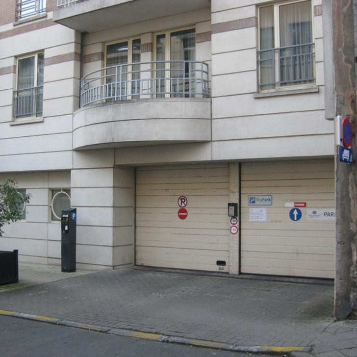 Parque de estacionamento Parking Public BEPARK PLACE DU LUXEMBOURG - HÔTEL RENAISSANCE (Couvert) Ixelles