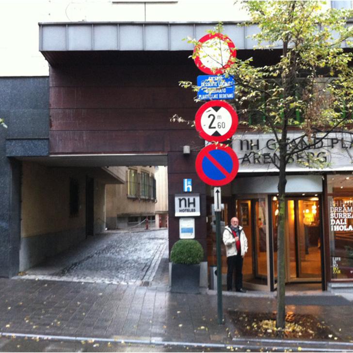 Parking Público BEPARK GARE CENTRALE - SAINTE-GUDULE (Cubierto) Bruxelles
