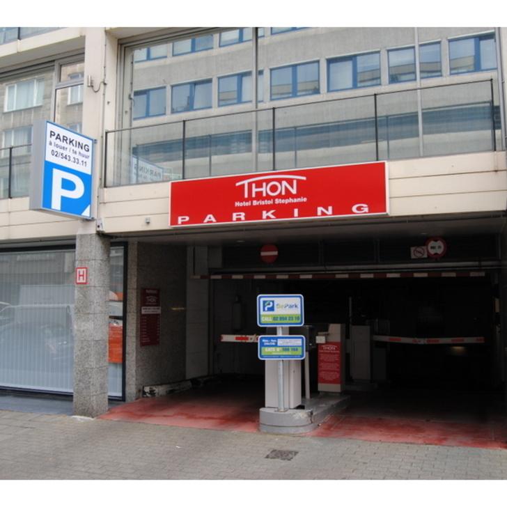 Parking Público BEPARK STÉPHANIE - HÔTEL THON BRISTOL (Cubierto) Bruxelles