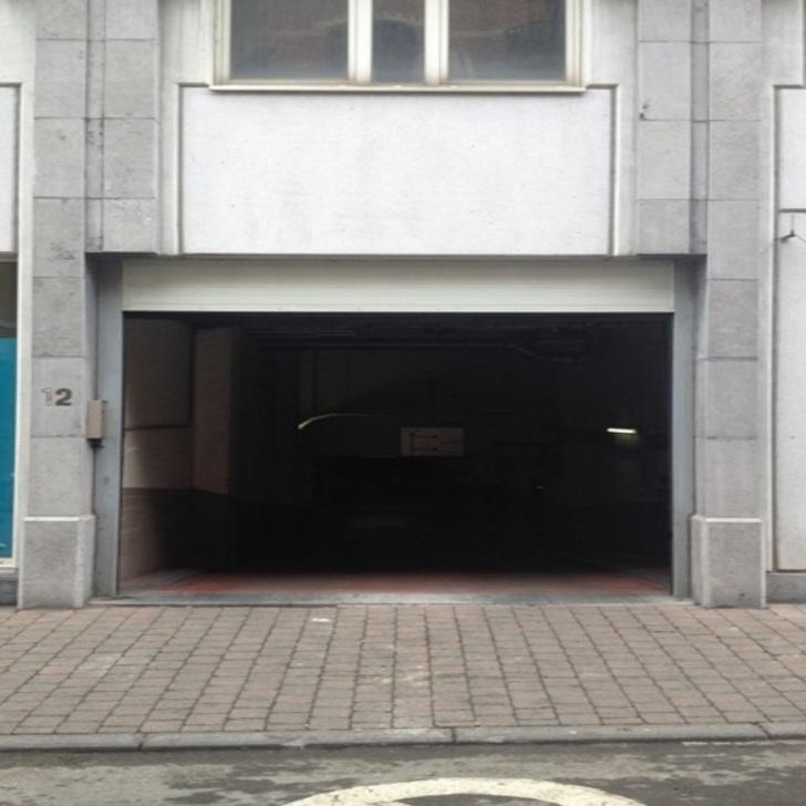 Öffentliches Parkhaus BEPARK HÔTEL DES MONNAIES (Überdacht) Parkhaus Bruxelles