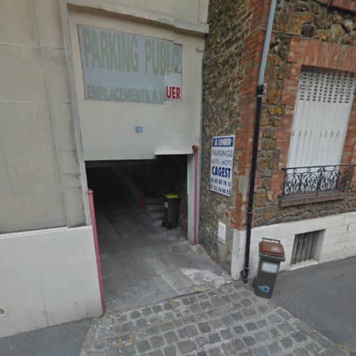 Privatgelände Parkplatz RUE ÉMILE ZOLA (Überdacht) Parkhaus Le Pré-Saint-Gervais