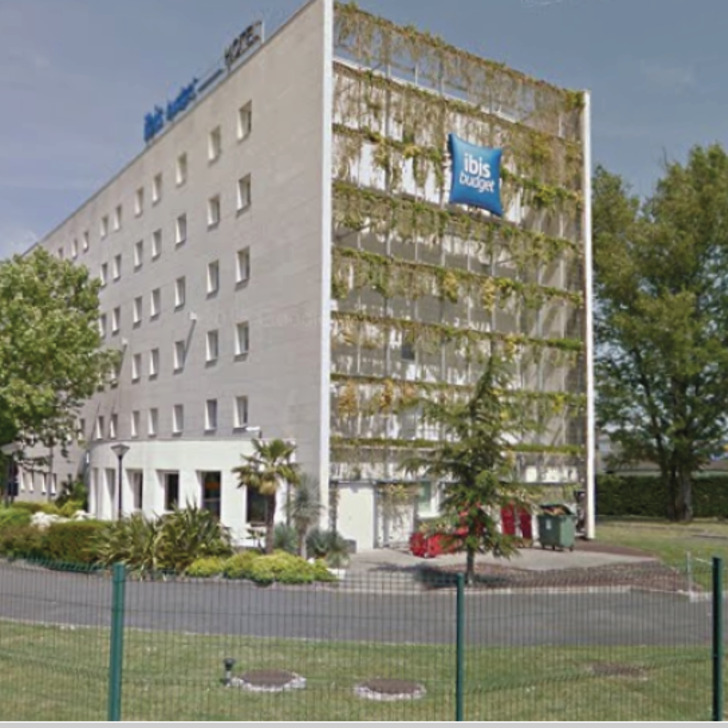 Parcheggio Hotel IBIS BUDGET BORDEAUX AÉROPORT (Esterno) parcheggio Mérignac