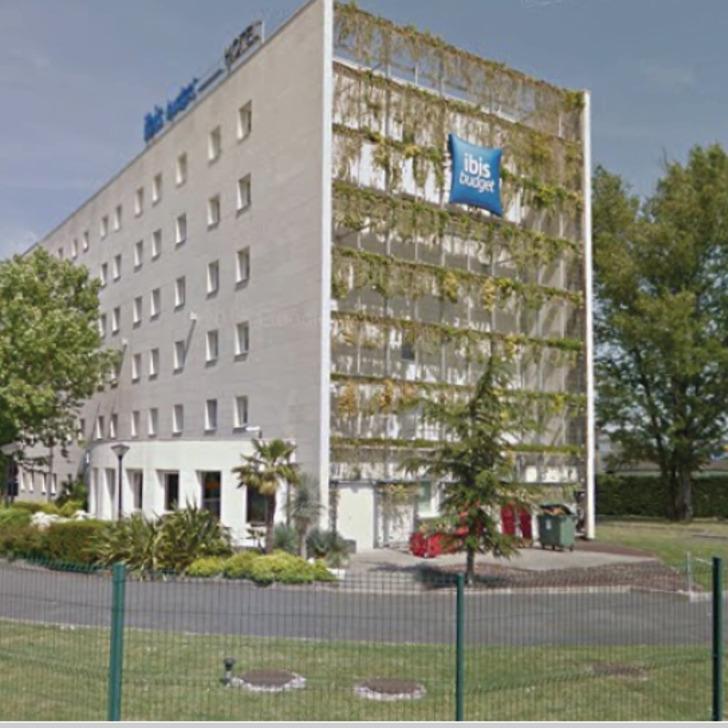 Parque de estacionamento Parking Hôtel IBIS BUDGET BORDEAUX AÉROPORT (Extérieur) Mérignac