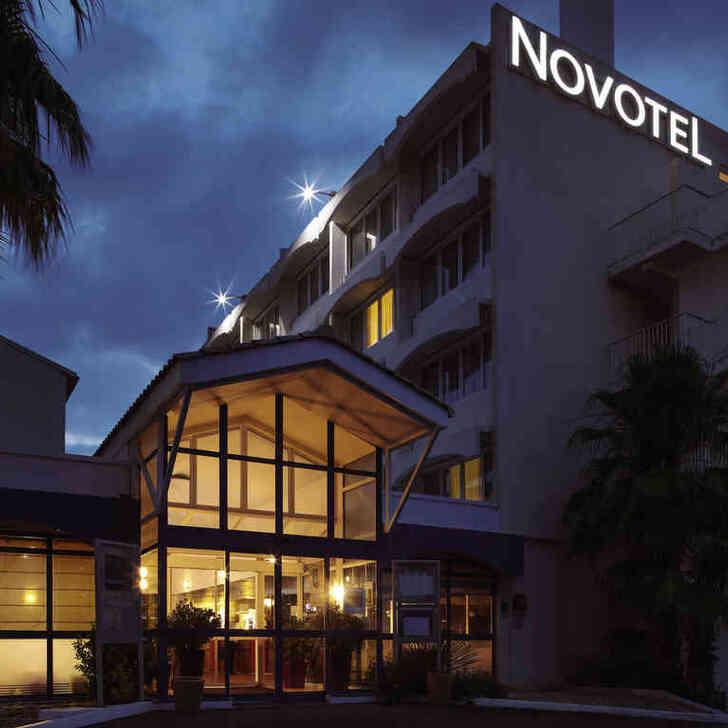 NOVOTEL MONTPELLIER Hotel Parking (Exterieur) Parkeergarage MONTPELLIER