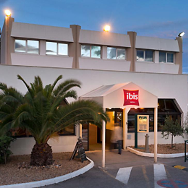 Parque de estacionamento Parking Hôtel IBIS BUDGET MONTPELLIER SUD PRÈS D'ARÈNES (Extérieur) Montpellier