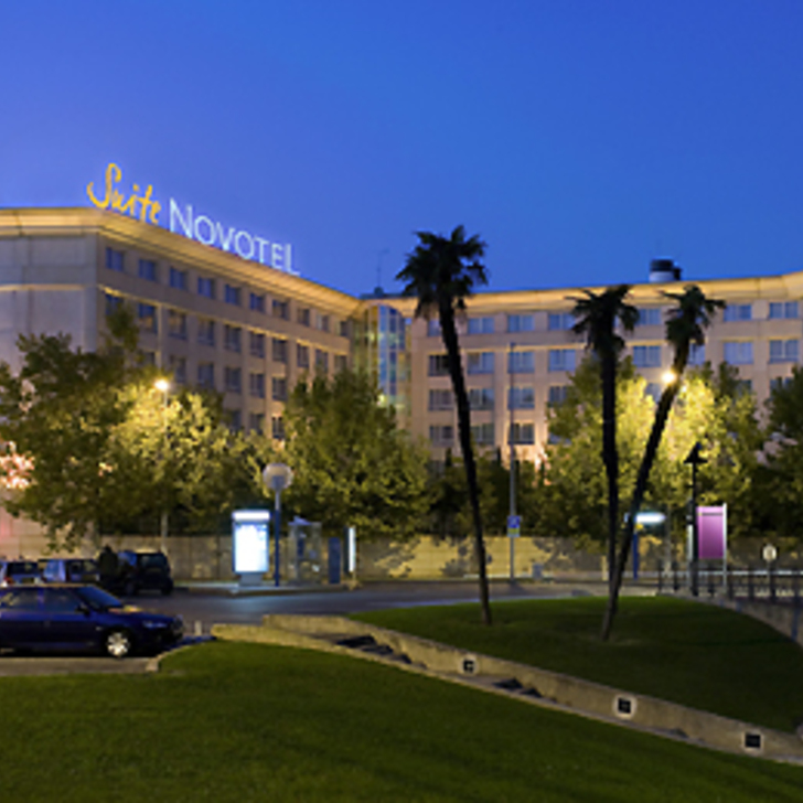 NOVOTEL SUITES MONTPELLIER Hotel Parking (Overdekt) Parkeergarage Montpellier