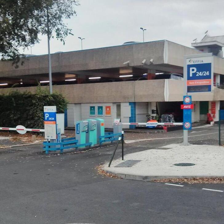 Offiziell Parkhaus EFFIA GARE D'ANGOULÊME (Überdacht) ANGOULEME