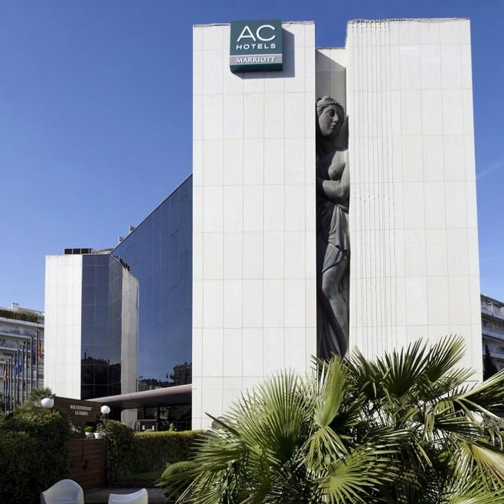 AC HOTEL BY MARRIOTT NICE Hotel Car Park (Covered) car park Nice