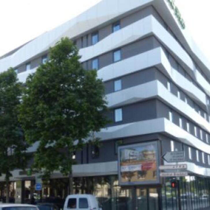 IBIS STYLES STRASBOURG AVENUE DU RHIN Hotel Parking (Overdekt) Parkeergarage Strasbourg