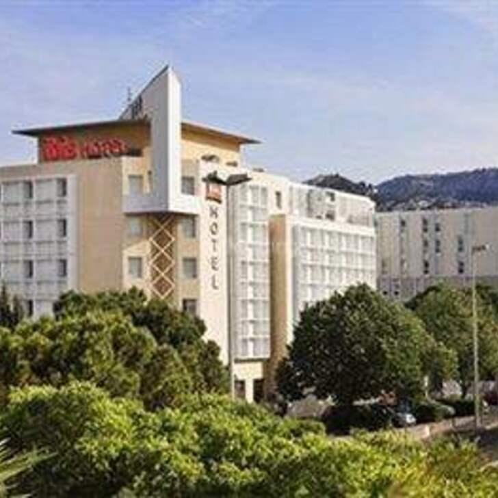Parking Hôtel IBIS MARSEILLE BONNEVEINE CALANQUES PLAGES (Couvert) Marseille