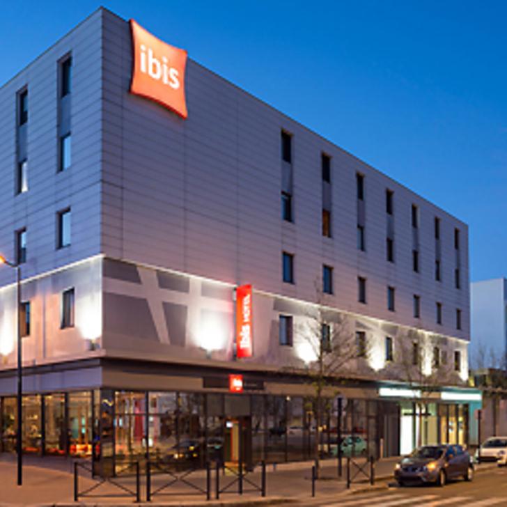 IBIS BORDEAUX CENTRE BASTIDE Hotel Parking (Overdekt) Parkeergarage Bordeaux