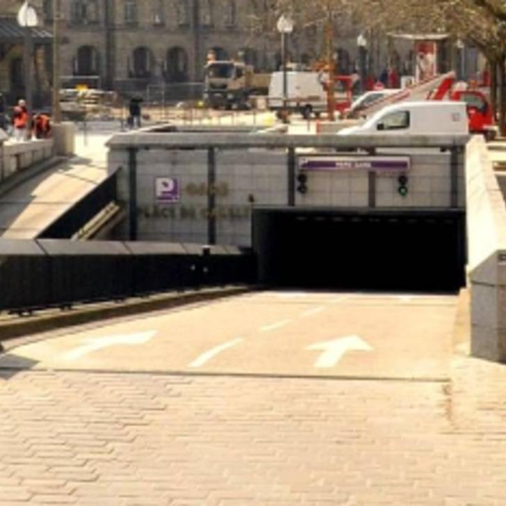 Öffentliches Parkhaus URBIS PARK GARE CHARLES DE GAULLE (Überdacht) Parkhaus Metz