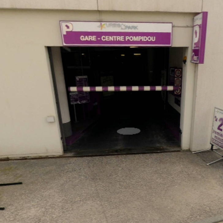 URBIS PARK GARE CENTRE POMPIDOU Openbare Parking (Overdekt) Parkeergarage Metz