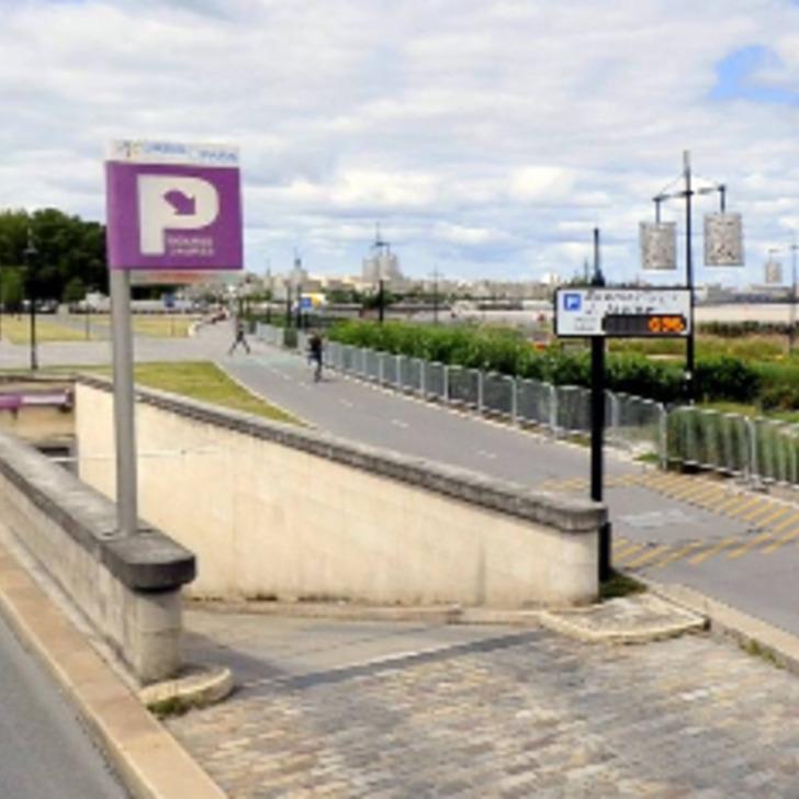 Öffentliches Parkhaus URBIS PARK BOURSE - JEAN JAURÈS (Überdacht) Parkhaus Bordeaux