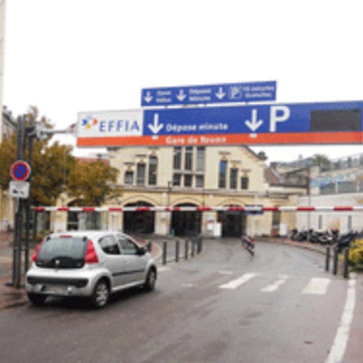 EFFIA GARE DE ROUEN P1 Officiële Parking (Exterieur) ROUEN