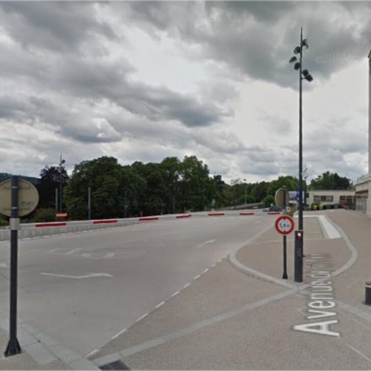 Parking Officiel EFFIA GARE DE BESANÇON VIOTTE Sud (Couvert) BESANCON