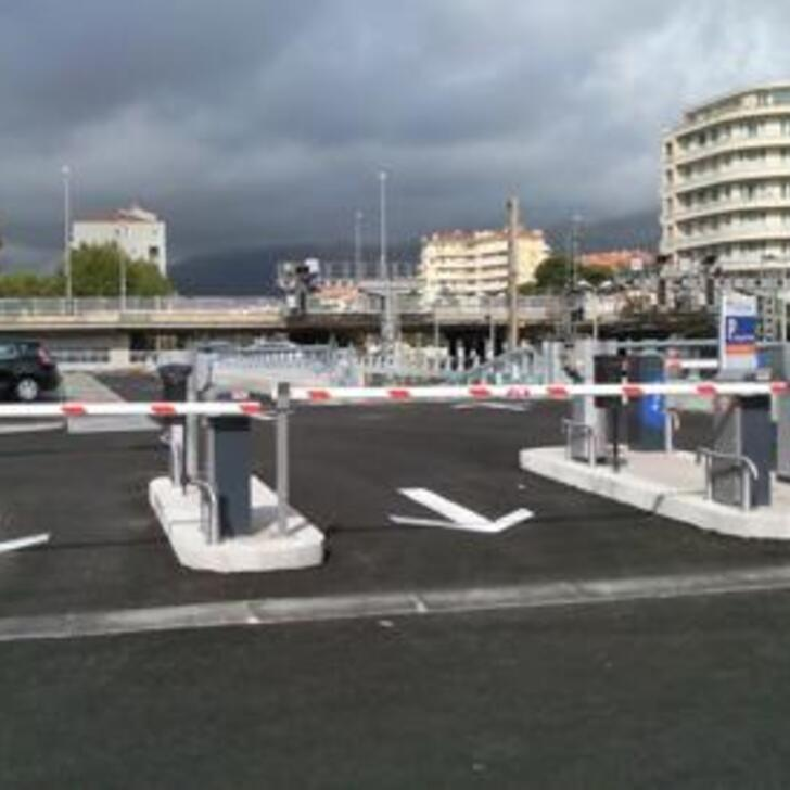 Parking Oficial EFFIA GARE DE TOULON LOUIS ARMAND - Larga Duración (Cubierto) TOULON