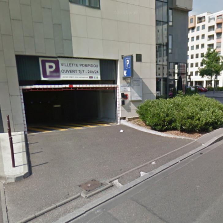 Hotel Parkhaus MERCURE LYON CENTRE - GARE PART-DIEU (Überdacht) Lyon