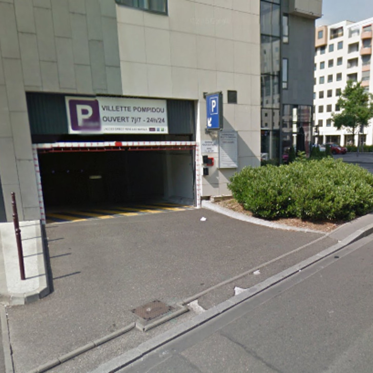 MERCURE LYON CENTRE - GARE PART-DIEU Hotel Parking (Overdekt) Lyon