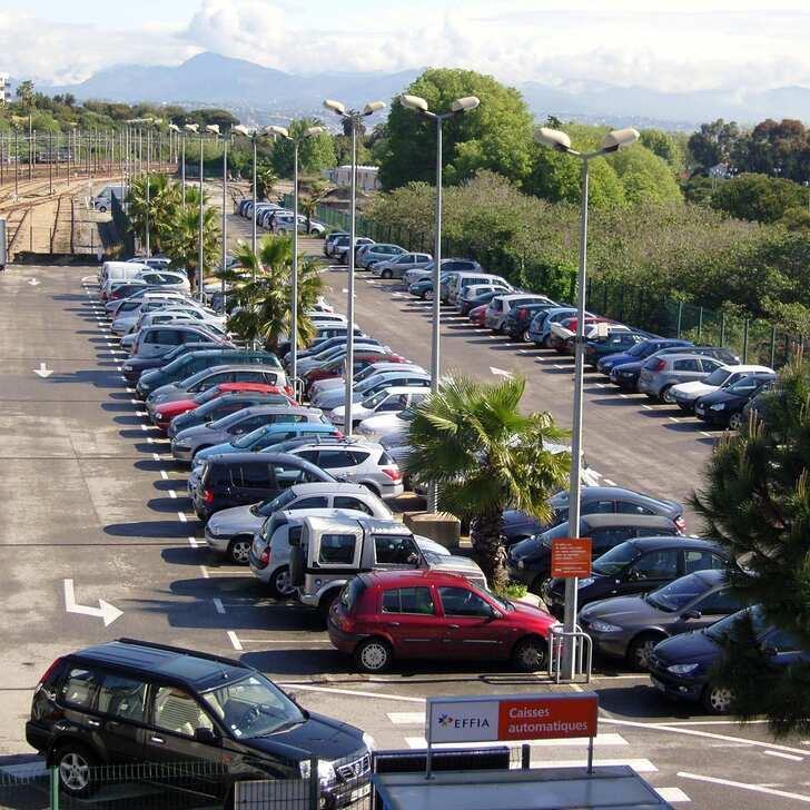 Parcheggio Ufficiale EFFIA GARE D'ANTIBES (Esterno) parcheggio ANTIBES