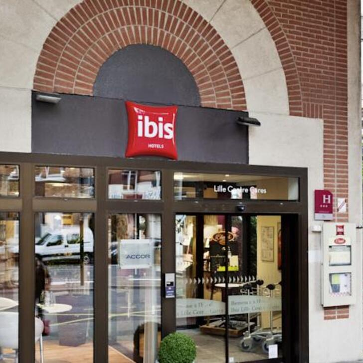 Parking Hotel IBIS LILLE CENTRE GARES (Cubierto) Lille