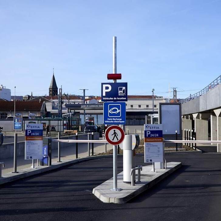 effia gare de clermont ferrand official car park external in clermont ferrand parking space. Black Bedroom Furniture Sets. Home Design Ideas