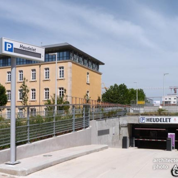 URBIS PARK HEUDELET Openbare Parking (Overdekt) Parkeergarage Dijon